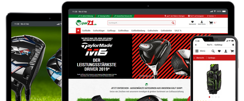 Shopware Referenz - Par71.de